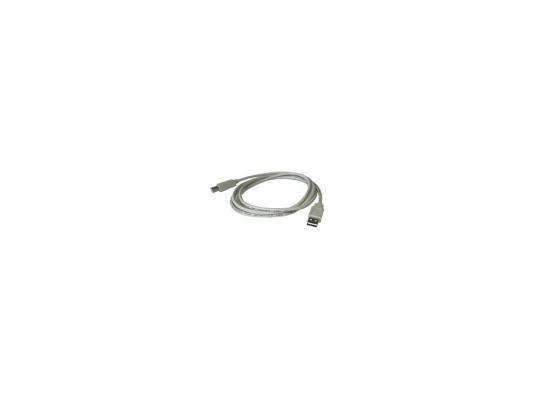 Кабель USB 2.0 AM-BM 5.0м Buro серый USB2.0-AM/BM-5