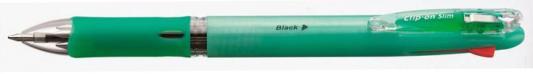 Шариковая ручка автоматическая Zebra CLIP ON SLIM разноцветный B4A5 в ассортименте
