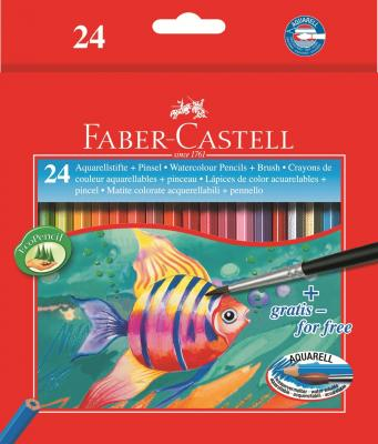 Набор цветных карандашей Faber-Castell Colour Pencils 24 шт акварельные 114425 faber castell 48colors water colored pencil set lapis de cor profissional brand safety non toxic prismacolor color pencils