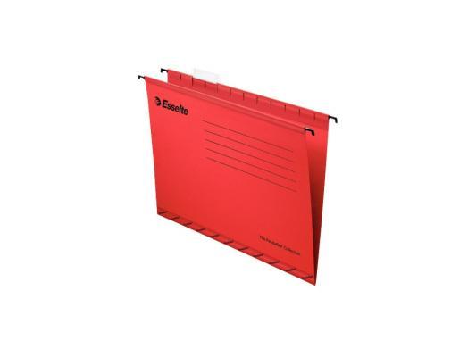 Папка подвесная Esselte Pendaflex Plus Foolscap 405x365x242мм 25шт красный 90336 цена и фото