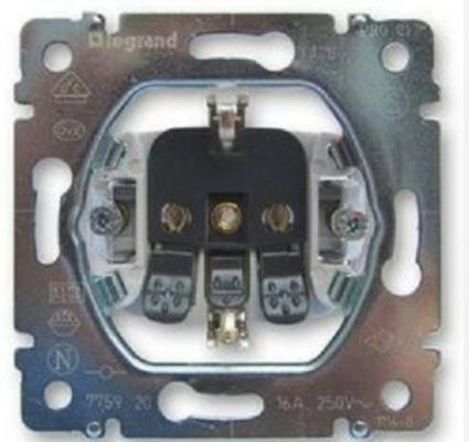 Розетка электрическая Legrand Galea Life 2К+3 автоматические клеммы 775920 от 123.ru