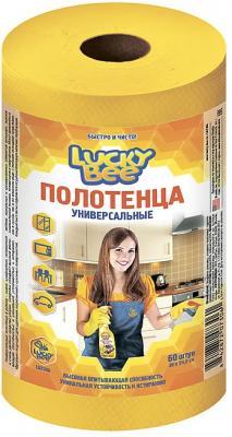 Полотенца универсальные 60шт 245х300мм желтый Lucky Bee LB 7306
