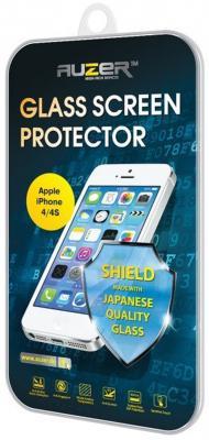 Защитное стекло Auzer AG-SAI для iPhone 4 iPhone 4S 0.33 мм