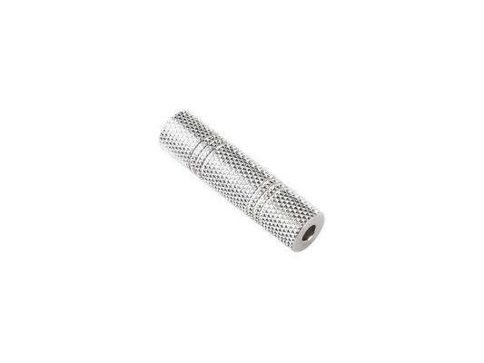 Адаптер Hama Jack 3.5 (F) -Jack 3.5 (F) стерео серебристый H-43266