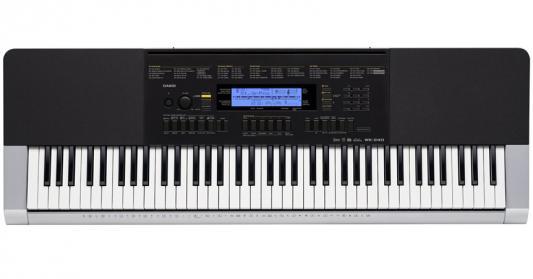 Синтезатор Casio WK-240 76 клавиш USB AUX черный синтезатор casio wk 7600 76 невзвешенная полноразмерные 64 черный