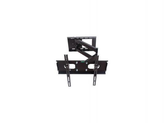 """Кронштейн Rolsen RWM-200 черный для ЖК ТВ 23-50"""" настенный от стены 100-600мм наклон 15° поворот 180° до 56кг"""