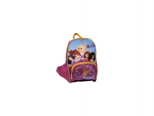 Рюкзак Lego Friends All Girls 6 л розовый рисунок 00124758