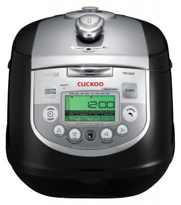 Мультиварка Cuckoo CMC-HE1055F черный серебристый 1400 Вт 5 л