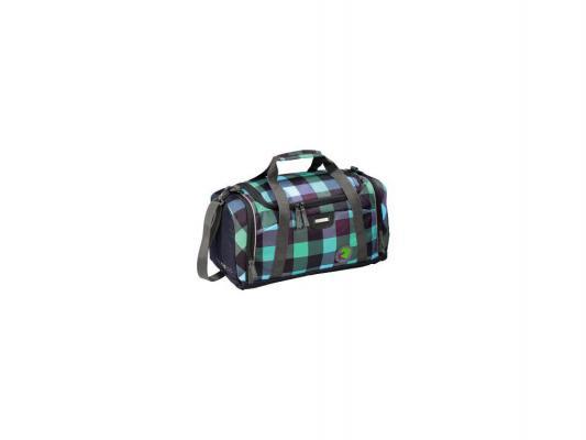 Сумка спортивная Coocazoo SporterPorter Green Purple District зелено-черный 00124798 - CoocazooДорожные и спортивные сумки<br>Бренд: Coocazoo, Тип: Сумка спортивная, Цвет: фиолетовый<br>