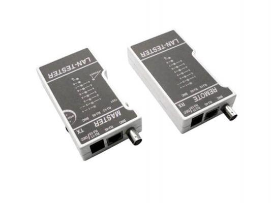 Тестер Hyperline HL-NCT1 тестер LT-100 для витой пары, коаксиального и телефонного кабеля. тестер аккумулятора master mst sos1