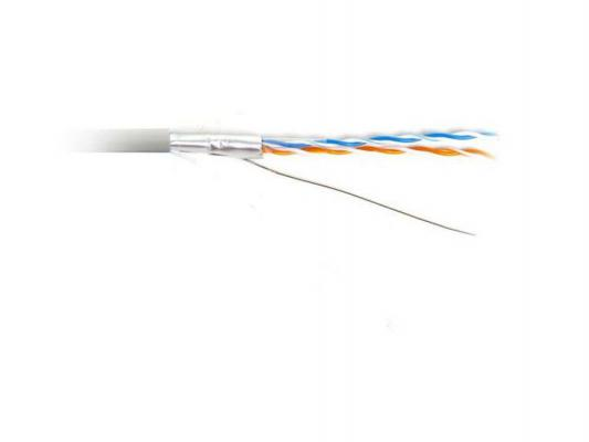 Кабель FTP indoor 2 пары категория 5e Hyperline FTP2-C5E-SOLID-INDOOR-500 24AWG одножильный 100% медь PVC 500м