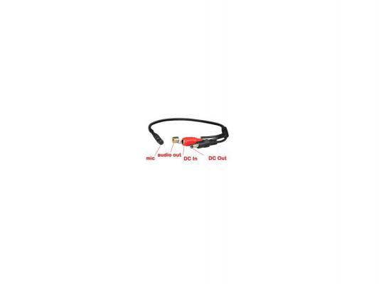 Микрофон для видеосистем Orient VMC-06X активный питание 6-12В RCA+питание миниатюрный