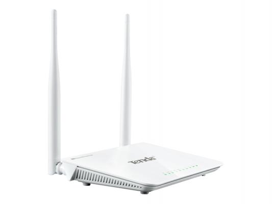 Беcпроводной маршрутизатор Tenda F300 802.11n 300Mbps 2.4ГГц английская версия tenda n301 300mbps wifi router