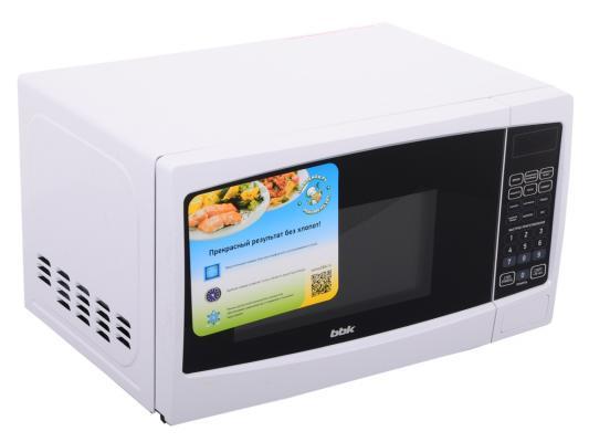 Микроволновая печь BBK 20MWS-726S/W 20л 700Вт белый