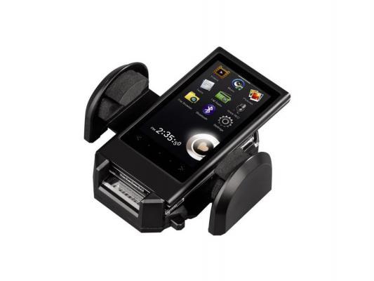 Крепеж для навигатора Hama H-14483 шириной 4-11см пластик черный