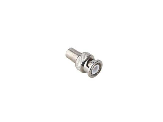 Адаптер Hama RCA (f)-BNC (m) металл H-43437
