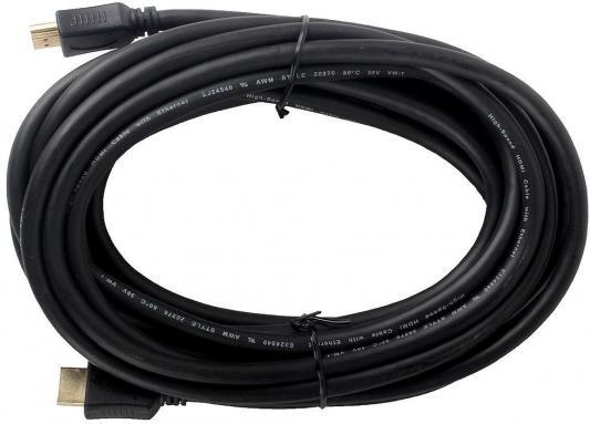 Кабель HDMI 5.0м Gembird Ver.1.4 Silver/gold jack ферритовые кольца позолоченные контакты 794309 кабель видео hdmi m hdmi m ver 1 4 10м gold ф фильтр синий белый