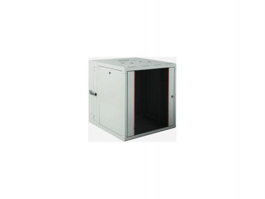 Шкаф настенный 19 16U Estap ProLine PRD16U56GF1 600x(160+450)mm дверь стекло с металлической рамой слева и справа серый