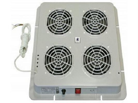 Вентиляторный модуль Estap M44HV4FTG 4 вентилятора термостат для шкафов Universal Line серый