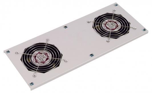 Вентиляторный модуль Estap M11HV2FWTG 2 вентилятора термостат для настенных шкафов серый