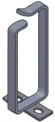 Кольцо для кабель-органайзера Estap K44RING04G 70х160мм 5шт серый