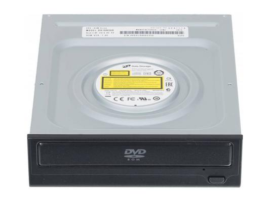 Привод для ПК DVD-ROM LG DH18NS60/61 SATA черный OEM привод для ноутбука blu ray lg bu40n sata черный oem