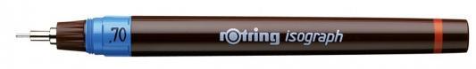 Изограф капилярный Rotring 1903494 0.7 мм rotring rapid pro metal mechanical pencil