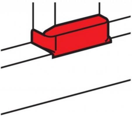 Отвод плоский Legrand для односекционных кабель-каналов DLP 50х105 ширина профиля 105 мм 10740 белый