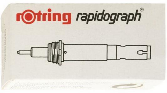 Пишущий элемент Rotring для рапидографа 0.18мм пластик S0219110 пишущий элемент rotring для рапидографа 0 50мм пластик 0219590
