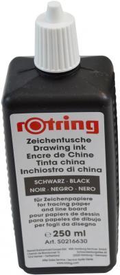 Тушь для изографов Rotring S0216630 черный S0216630
