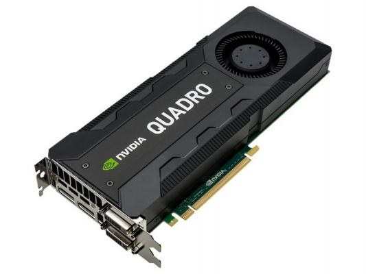 Видеокарта 8192Mb PNY Quadro K5200 PCI-E GDDR5 DVI 2хDP VCQK5200-PB Retail