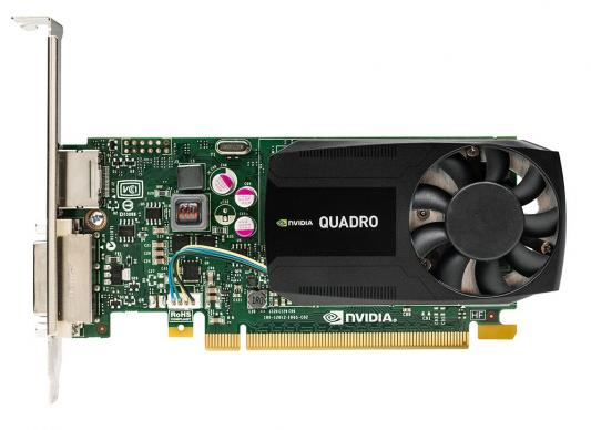 Видеокарта 2048Mb PNY Quadro K620 PCI-E DVI DP Low Profile VCQK620-PB Retail