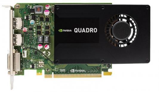 Видеокарта 2048Mb PNY Quadro K2200 PCI-E DVI 2хDP VCQK2200-PB Retail