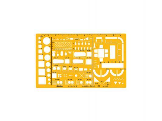 ������ ������������� Rotring Architekt 250x150x12 �� ������� 1:50 ������� ������ S0238711
