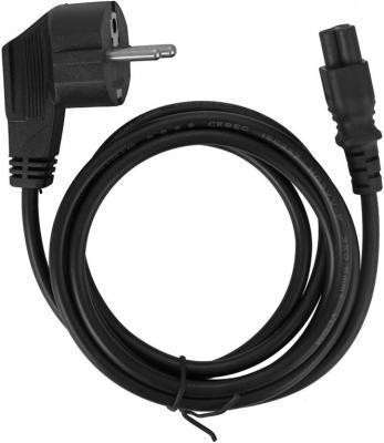 Кабель питания для ноутбуков 1.8м VCOM Telecom CE022-1.8M CE022-CU0.5 кабель питания для ноутбуков 3 0м vcom telecom ce022 cu0 5 3m
