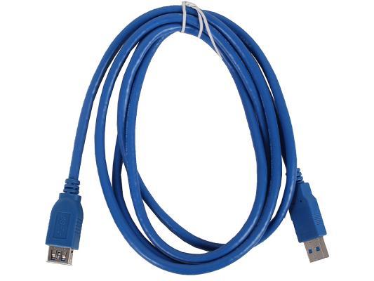 Кабель удлинительный USB 3.0 AM-AF 1.8м VCOM Telecom VUS7065-1.8M кабель удлинительный usb 3 0 am af 3 0м vcom telecom vus7065 3m