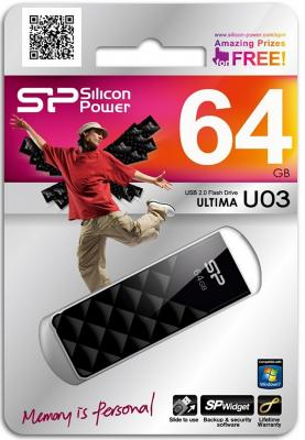 ������ USB 64GB Silicon Power Ultima U03 SP064GBUF2U03V1K ������