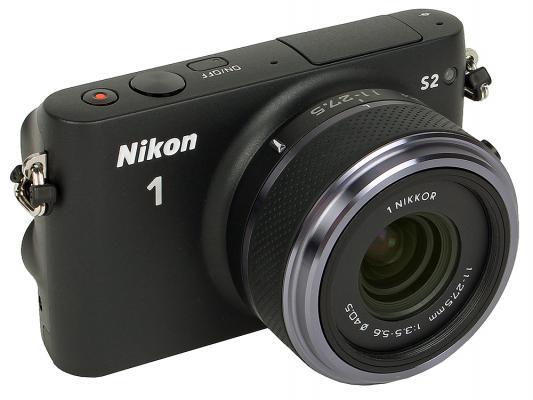 Фотоаппарат Nikon 1 S2 11–27.5mm 15.13Mpx черный
