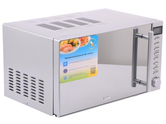 СВЧ BBK 20MWS-721T/BS-M 700 Вт серебристый bbk 25mwc 990t s m серебристый гриль конвекция 900вт 25л