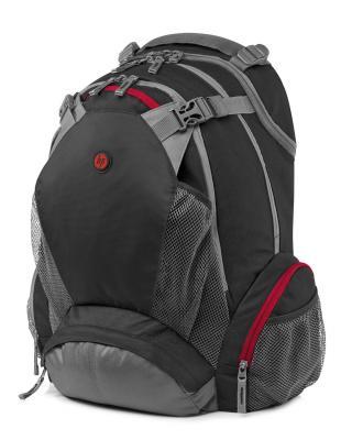 """Рюкзак для ноутбука 17.3"""" HP F8T76AA Full Featured Backpack синтетика черный"""
