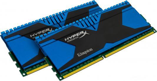 Оперативная память 8Gb (2x4Gb) PC3-15000 1866MHz DDR3 DIMM CL9 Kingston HX318C9T2K2/8 XMP Predator Series