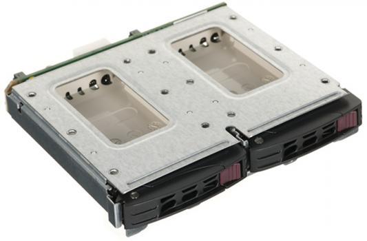 "Адаптер SuperMicro MCP-220-84606-0N для 2x2.5"" жёстких дисков для задней панели корпусов 846B"