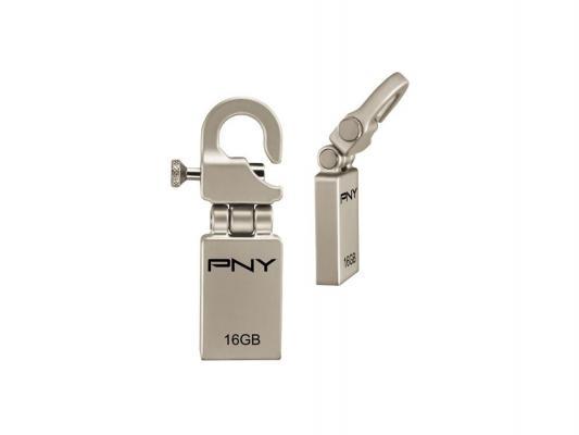 ������ USB 16Gb PNY Micro Hook Attache P-FDI16G/APPHK-GE