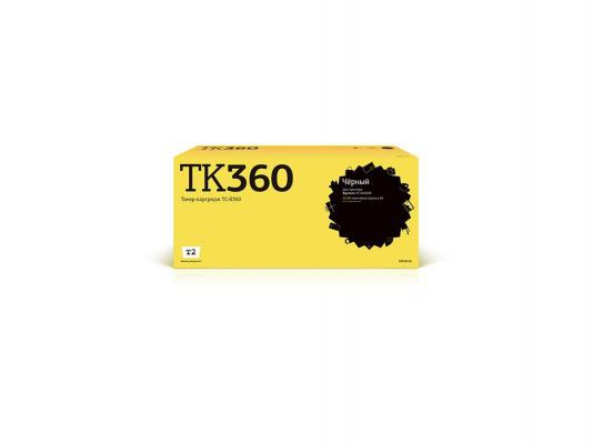 Картридж T2 TC-K360 для Kyocera FS-4020DN черный 20000стр au tk364 manufacturer toner cartridge reset chip for kyocera fs 4020dn 4020 4020dn laser printer