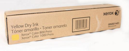 Тонер-картридж Xerox 006R01483 для Color 1000 желтый профессиональный пылесос starmix gs 3078 pz 10 63 28
