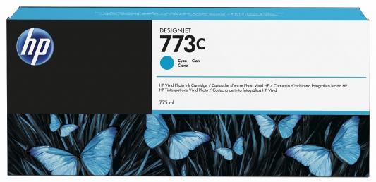 Картридж HP C1Q42A для DesignJet Z6800/Z6600 голубой free shipping q5669 60664 for hp designjet t610 t1100 z2100 z3100 z3200 vacuum fan aerosol fan assembly original used