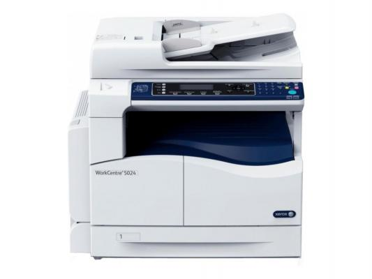 МФУ Xerox WorkCentre 5024V ч/б A3 24ppm 600x600dpi Duplex сканер факс USB мфу xerox workcentre 5022v u ч б a3 22ppm 600x600dpi usb