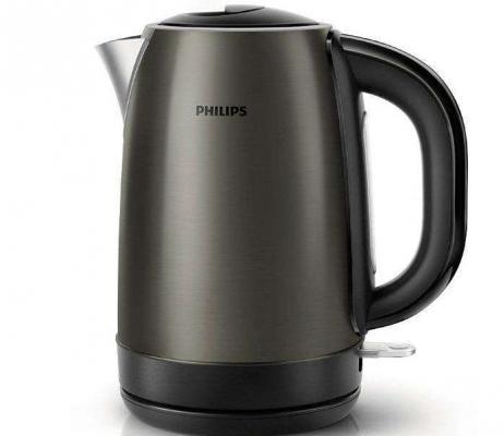 Чайник Philips HD 9323/80 2200Вт 1.7л сталь серебристый