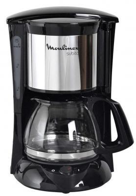 Кофеварка Moulinex FG151825 капельная 600Вт 1л черный