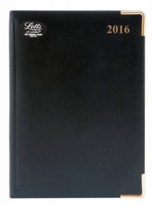 Ежедневник датированный Letts Lexicon A5 искусственная кожа 412128210